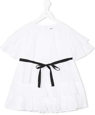 Douuod Kids belted blouse