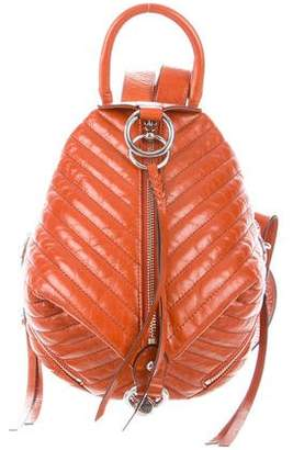 Rebecca Minkoff Quilted Leather Backpack