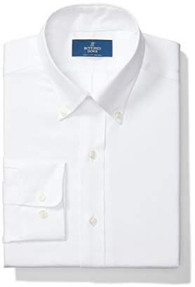 Buttoned Down Men's Classic Fit Button-Collar Solid Non-Iron Dress Shirt