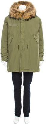 Mr & Mrs Italy Fur-Lined Hooded Parka w/ Tags