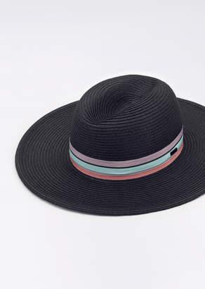 RVCA Beachin Hat Woven | Wildfang - Beachin' Hat - BLACK - OS