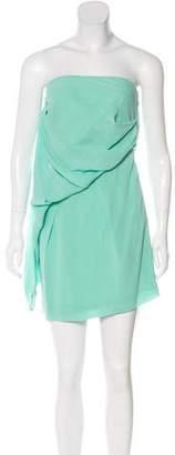 Diane von Furstenberg One-Shoulder Mini Dress