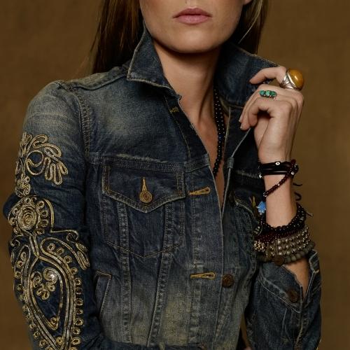Denim & Supply Ralph Lauren Soutache Denim Trucker Jacket