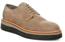 Vince Drystan Leather Platform Oxfords