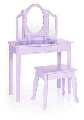 Guidecraft Vanity and Stool Lavender