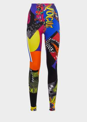 Versace Vogue SS'91 Print Tribute Tights