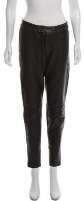 Yigal Azrouel Mid-Rise Studded Pants