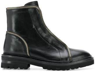 Steffen Schraut zipped detailing ankle boots