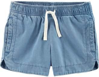 Carter's Toddler Girl Chambray Shorts