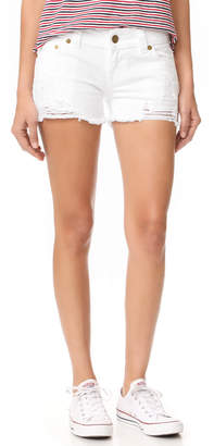 True Religion Keira Low Rise Cutoff Shorts $149 thestylecure.com