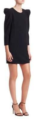 A.L.C. Fiona Crepe Long Sleeve Mini Dress