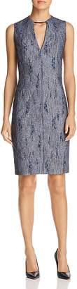Elie Tahari Pacey Cutout-Neck Sheath Dress