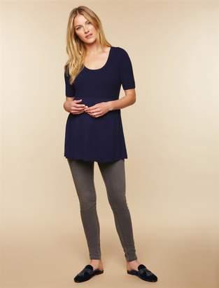 Motherhood Maternity Secret Fit Belly Skinny Maternity Jeans- Grey
