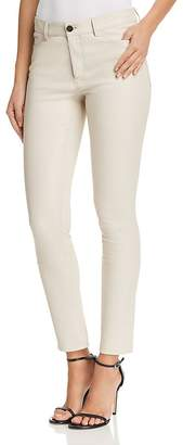 Theory Bristol Skinny Leather Pants