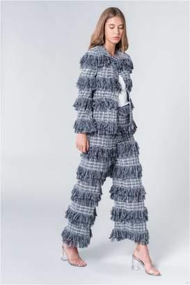 Sonia Rykiel Slim-Fit Cropped Tweed Jacket