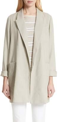 Lafayette 148 New York Malika Canvas Cloth Jacket