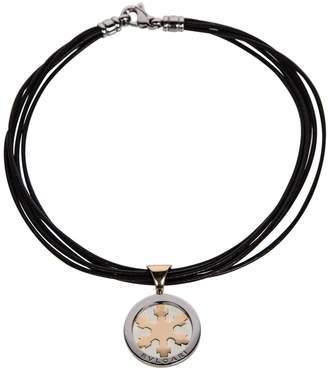 Bulgari Tondo leather necklace