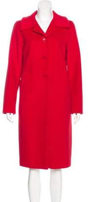 agnès b. Wool & Angora-Blend Coat