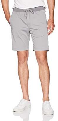 Calvin Klein Men's Tech Nylon Rib Waist Short