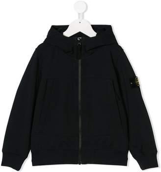 Stone Island Junior zip-up hoodie