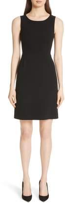 Akris Double Face Wool Blend Dress