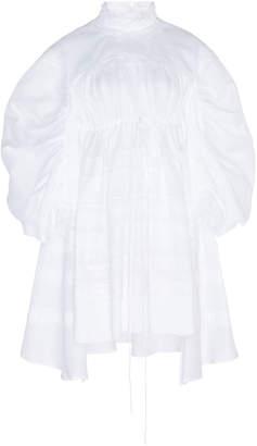 Dice Kayek Peasant Overlay Cotton Dress