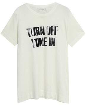 By Malene Birger Printed Cotton And Modal-Blend Jersey T-Shirt