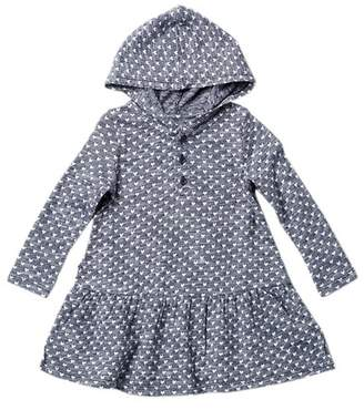 Harper Canyon Hooded Pattern Dress (Baby Girls)