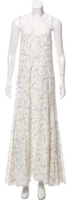 Elizabeth and James Printed Sleeveless Maxi Dress