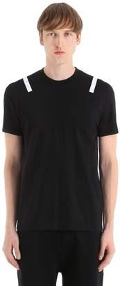 Neil Barrett Slim Fit Printed Cotton Jersey T-Shirt