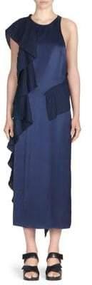 Kenzo Ruffled Midi Dress