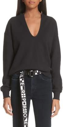 Proenza Schouler PSWL U-Neck Sweatshirt