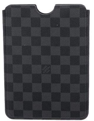 Louis Vuitton Damier Graphite iPad Mini Hardcase