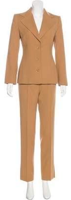 Dolce & Gabbana Structured Straight-Leg Pantsuit