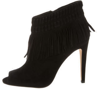 Rebecca Minkoff Rebecca Minkoff Suede Fringe Booties w/ Tags