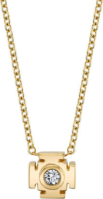Ark Mini Gateways 18K Gold Diamond Pendant