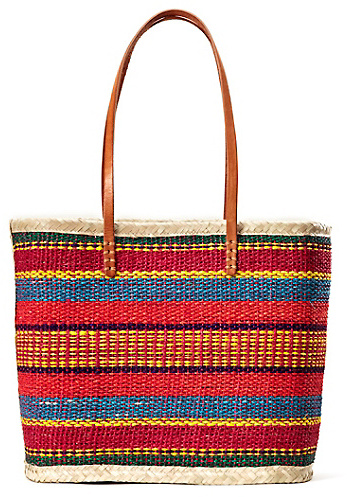Lucky Brand Summer Straw Tote