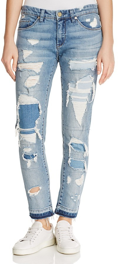Blank NYCBLANKNYC Distressed Jeans in Looking Glass