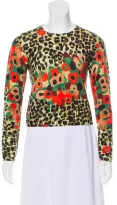 Samantha Sung Patterned Cashmere Sweater