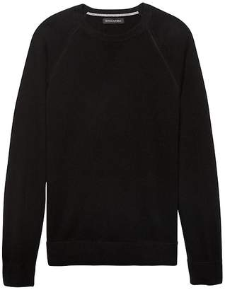 Banana Republic Machine-Washable Wool-Cashmere Sweater
