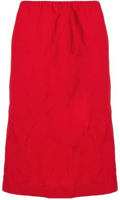 Ports 1961 straight-fit midi skirt