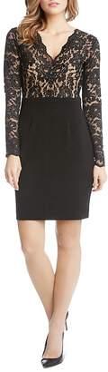 Karen Kane Becca Lace-Bodice Dress $159 thestylecure.com