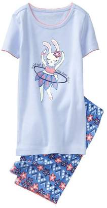 Gymboree Bunny 2-Piece Shortie Pajamas