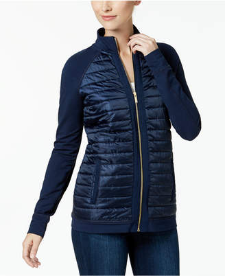 Charter Club Quilted Zip-Front Jacket, Created for Macy's