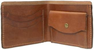 VIDA VIDA - Luxe Tan Leather Wallet With Coin Pocket