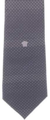Gianni Versace Patterned Silk Tie