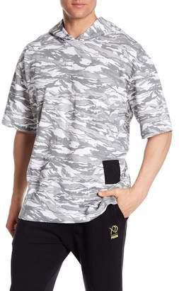 Puma X XO Short Sleeve Print Hoodie