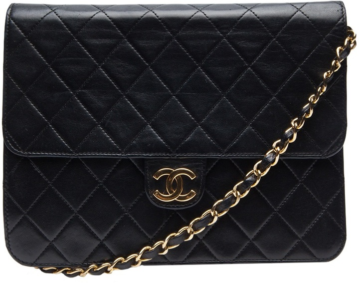 Chanel Vintage QUILTED ENVELOPE BAG