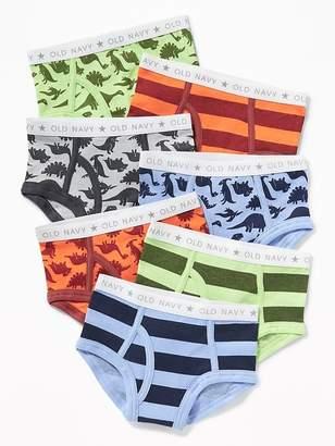 Old Navy Dinosaur-Print Briefs Underwear 7-Pack For Toddler Boys