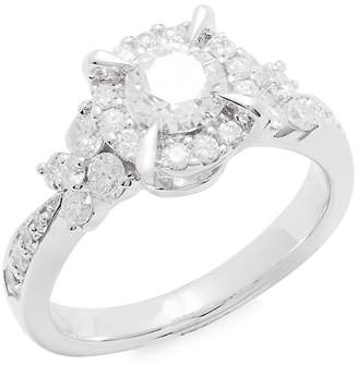 Saks Fifth Avenue Women's Diamond & 14K White Gold Ring